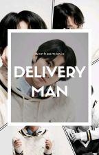 delivery man   jeon jungkook (HIATUS) by wonhaemonie