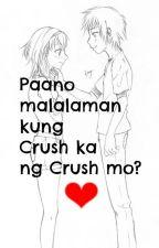 Paano nga ba Malalaman kung Crush ka ng Crush mo? ❤ by MynameisGiseeel