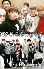 BTS & Sebong daily by pjybunny