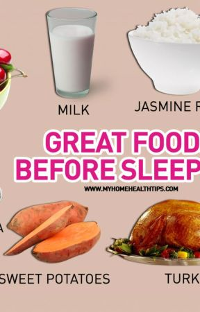 Do you know about the 8 great foods before sleeping by followmyhealthtips