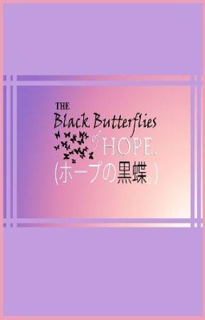 The Black Butterflies of Hope by KennuDemz