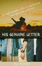 His Genuine Letter by sauveteur