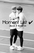 Jikook ◾ Kookmin Moment List ✔ by Saemochi