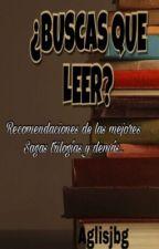 ¿Buscas que leer? Sagas, trilogías y demás   by aglisjbg