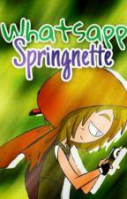 Whatsapp Springnette | FNAFHS  by -Nxshi