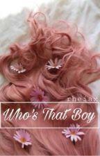 Who's That Boy || h.s. by rheiax