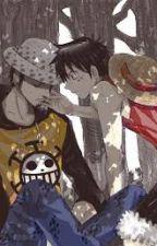Hãy luôn ở bên tôi nhé , Luffy( Lawlu) by WHITEROSE765