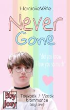 Never Gone (Taekook/Vkook)✔ by istrinyaJeyHope