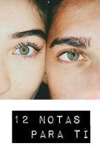 12 notas para ti by _Lauren_Jones__