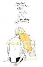 amarillo y naranja Sanji X Nami by minamiko11