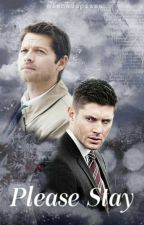 Please Stay • destiel [a/b/o] by mishadapizza