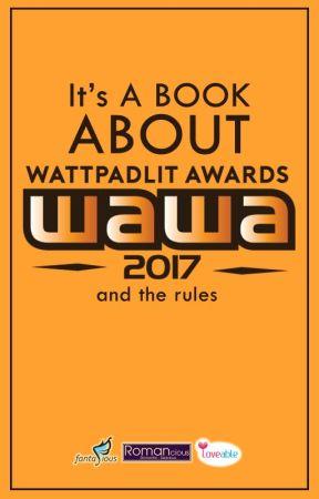Wawa 2017 Wattpadlit Awards 2017 Contoh Biodata Penulis Wattpad