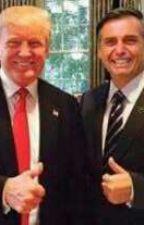 O amor de Bolsonaro e Trump by Tcostadc