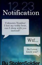Notification | Matthew Daddario by StolenSoldier