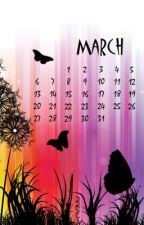 March One Shots (girlxgirl) by cakewriter