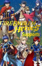 Fire Emblem Heroes Supports by Reina_de_Naipes