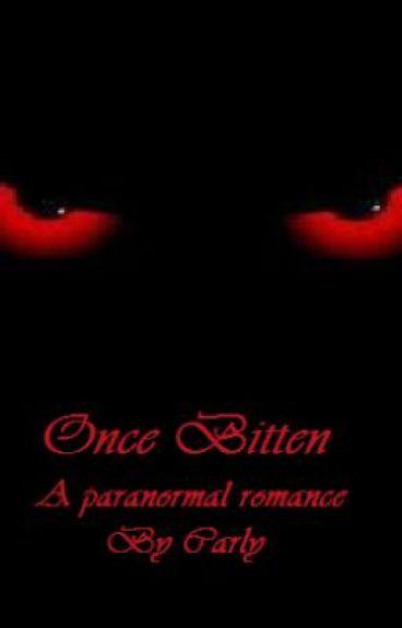 Once Bitten, a paranormal romance