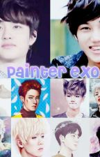 ♥ painter exo ♥  by Hoop-Sook