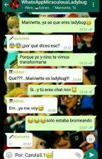 """WhatsApp:""""Miraculous Ladybug"""" by CarolaCincoPuntoUno"""
