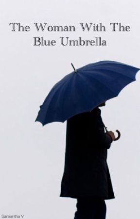 The Woman With The Blue Umbrella by samanthaevi