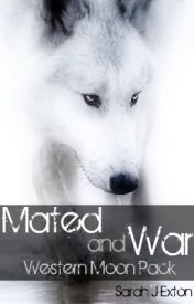 Mated and War  Western moon  wolf pack by Babygal2087