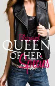 Queen of her Species: Black Storm by BlazeAngel