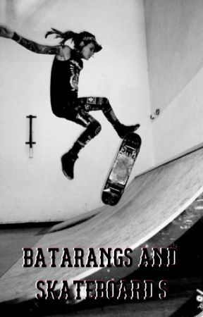 Batarangs and Skateboards by MamaAndJannyHorses