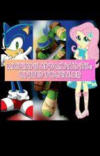 TMNT/MLP/Sonic High School Love Story by kiana1506