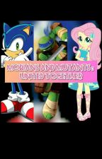 Mobians And Mutants : United Together by kiana1506