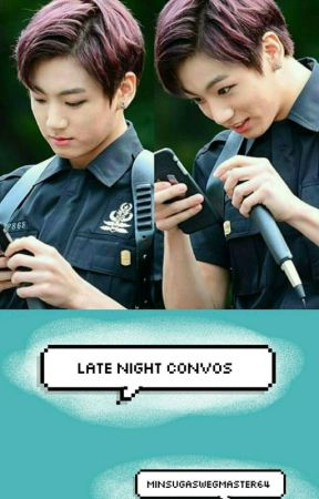 Late Night Convos | Yoonkook by MinSugaSwegMaster64