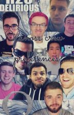 Vanoss crew preferences  by brie_mode14