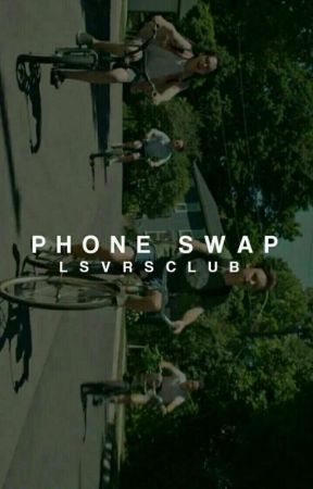PHONE SWAP ▪ TOM HOLLAND by hazosterfield