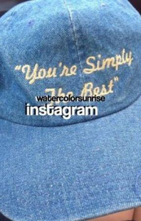 instagram; wesley tucker by watercolorsunrise