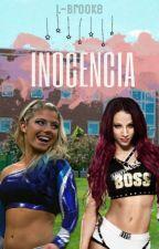 Inocencia.  Sasha Banks y Alexa Bliss.  WWE by L-Brooke