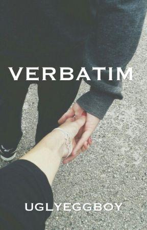 VERBATIM  by UGLYEGGBOY