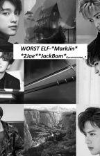 Worst Elf-*MarkJin* *2Jae*  by auroracosmo_7