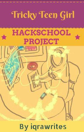 Hackschool Project by iqrawrites