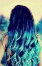 La chica del cabello azul by vicku3