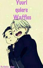 Yuuri quiere Waffles 【Victuuri】 by Nekki_chan