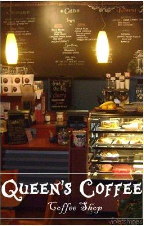Queen's Coffee (Coffee Shop) by violetstripes