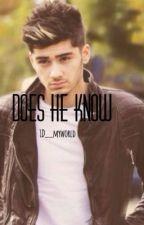 Does He Know? || Zayn Malik by _Bloqqingomq_13