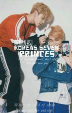 Korea's seven princes - BTS x READER by Moshieroo