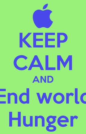 End World Hunger by Merbear0207