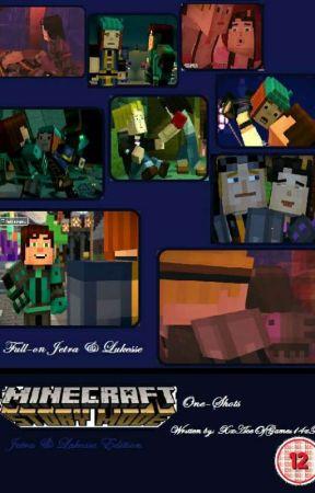 lukesse minecraft story mode fanart