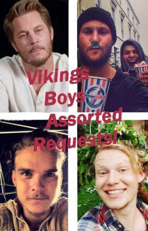 ✎ Vikings ·Actors ·Tumblr Requests ✎ - Jordan Patrick