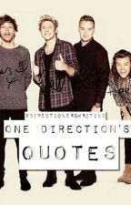 One Direction's Quotes by Directionerswriting