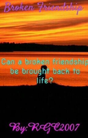 Broken Friendship by RGC2007