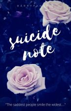 Suicide Note by BarryFangirl