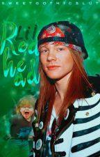 LIL REDHEAD ❥ axl rose by sweetgothicslut