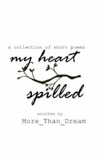 My Heart Spilled: Collection of short poems by Solanki_Romil